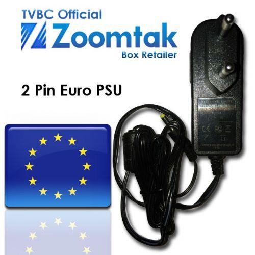 Zoomtak Euro 2 pin power supply unit (PSU)