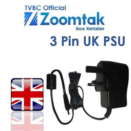 Zoomtak UK 3 pin power supply unit (PSU)