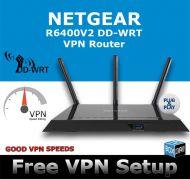 NETGEAR R6400 DD-WRT VPN ROUTER REFURBISHED