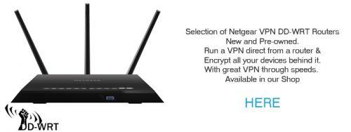 Netgear Nighthawk R7000 DD-WRT VPN Router Pre-Owned