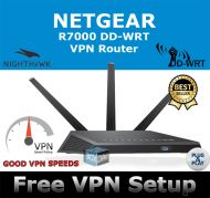 NETGEAR NIGHTHAWK R7000 DD-WRT VPN ROUTER REFURBISHED