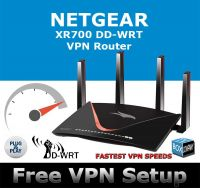 NETGEAR XR700 DD-WRT VPN ROUTER