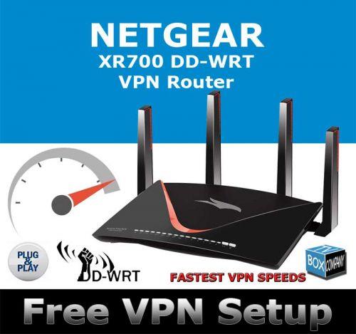 NETGEAR XR700 DD-WRT VPN ROUTER REFURBISHED