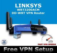 LINKSYS WRT3200ACM DD-WRT VPN ROUTER REFURBISHED