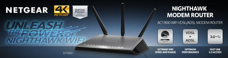 Netgear D7000 Unleashed