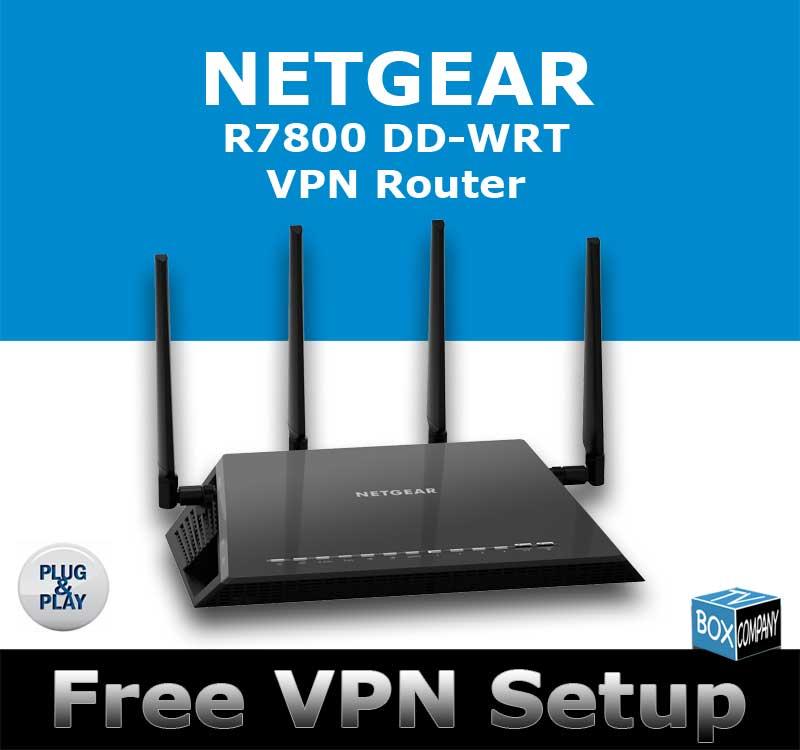 NETGEAR NIGHTHAWK X4S R7800 AC2600 DD-WRT VPN ROUTER