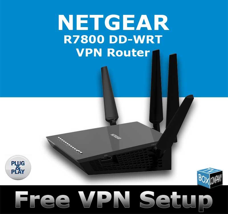 NETGEAR NIGHTHAWK X4S R7800 AC2600 DD-WRT VPN ROUTER REFURBISHED