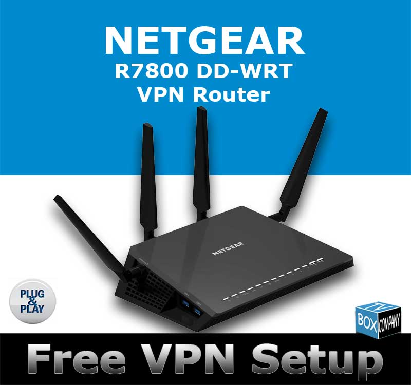 NEW NETGEAR R7800 DDWRT VPN ROUTER 5